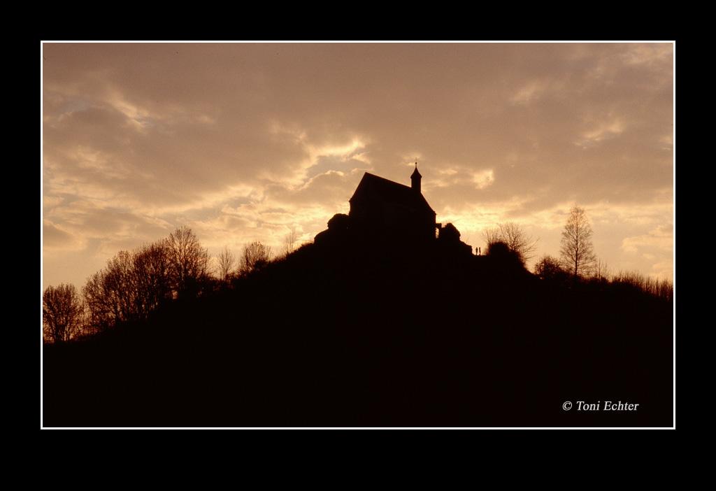 Wurmlinger Kapelle abendhimmel